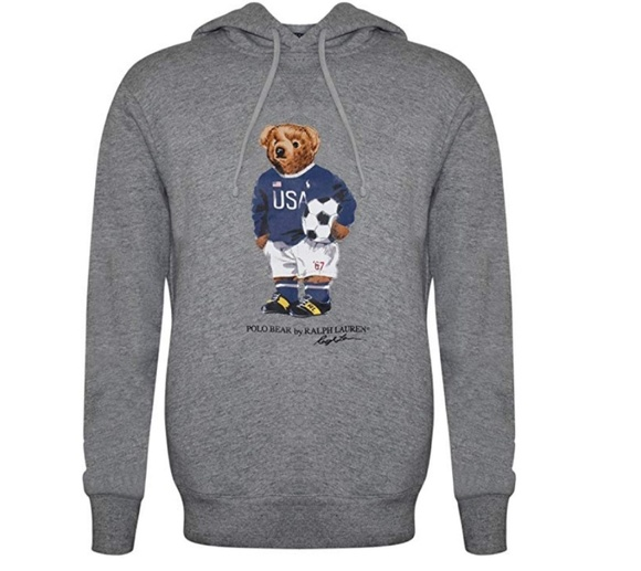 Polo Ralph Lauren bear hoodie NWT